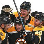 Bergeron Returns in Dramatic Fashion; Bruins defeat Preds 5-2