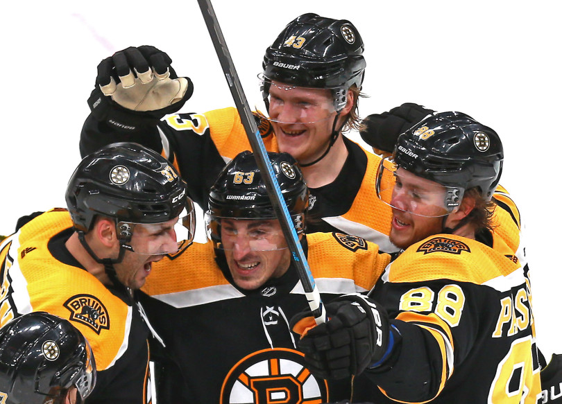 Bergeron Returns in Dramatic Fashion; Bruins defeat Preds 5-2