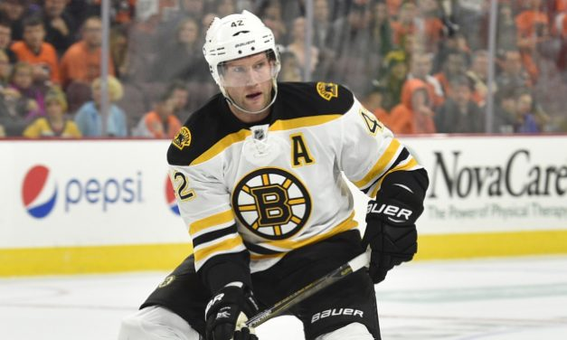 David Backes Stepping Up When Needed Most