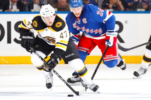 Game Preview: Bruins vs Rangers