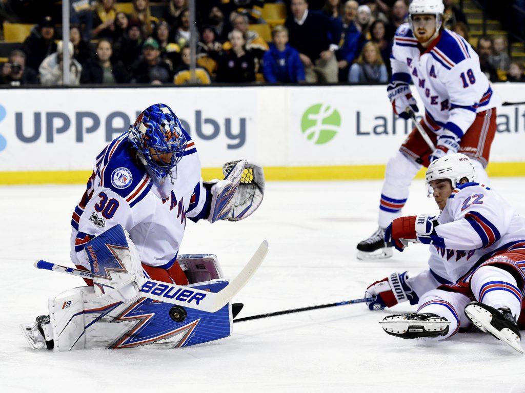 Boston Bruins vs New York Rangers
