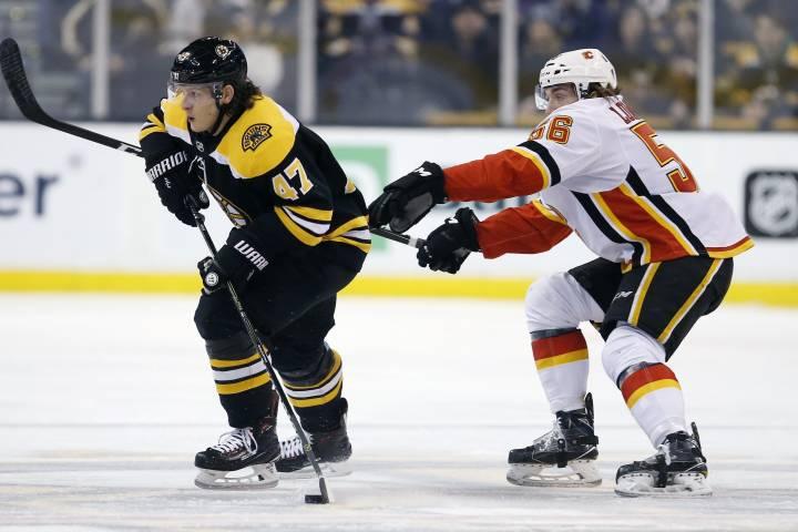 Game Preview: Boston Bruins vs Calgary Flames