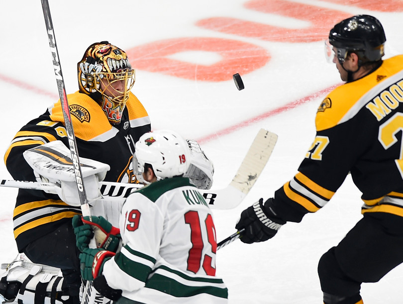 Boston Bruins vs Minnesota Wild