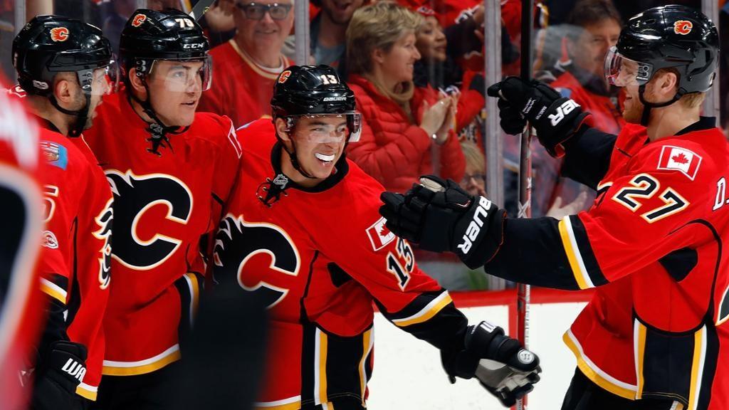Boston Bruins face Calgary Flames