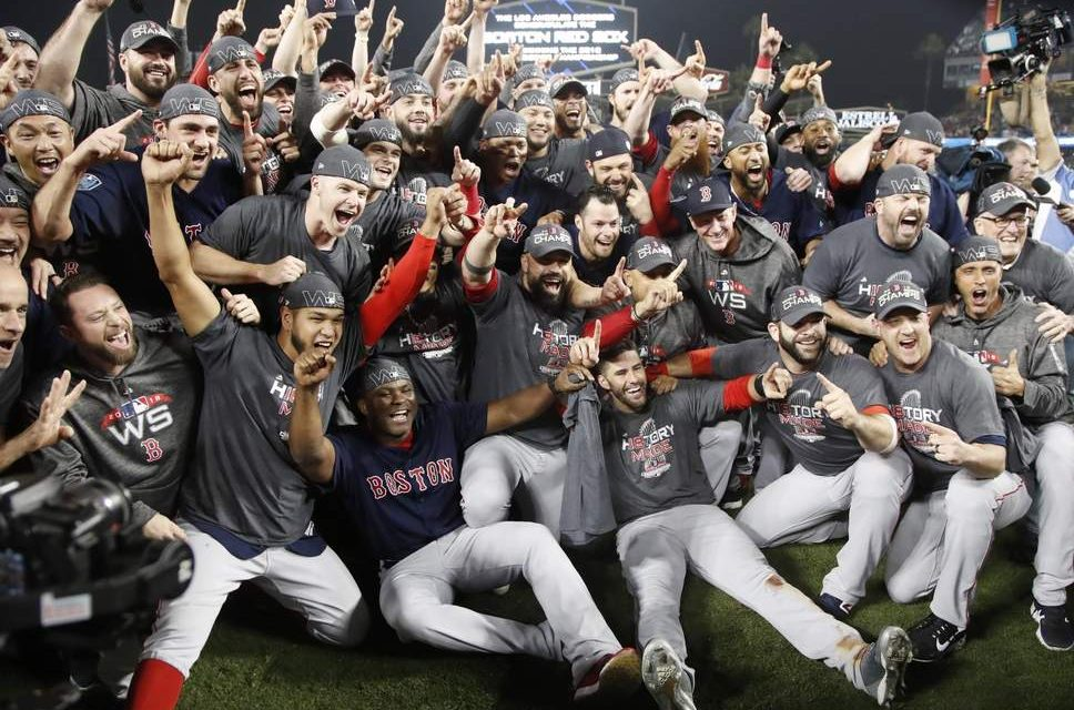 The Red Sox History as Defending World Champions