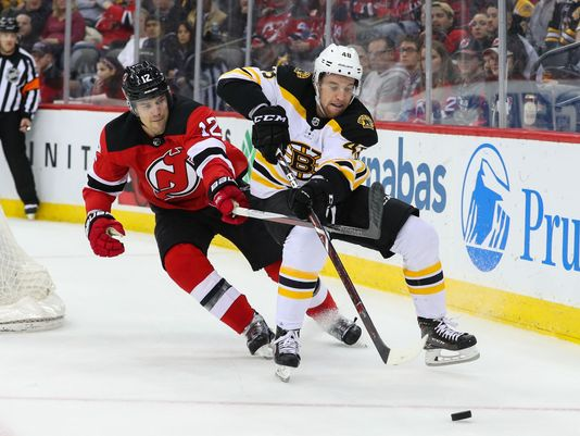 Bruins vs Devils