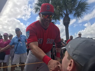 OPENING DAY FEEL GOOD STORY: Another Ring for Steve Pearce