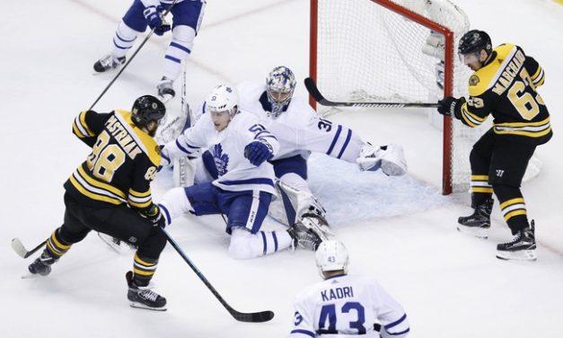 Game 1: Boston Bruins vs Toronto Maple Leafs