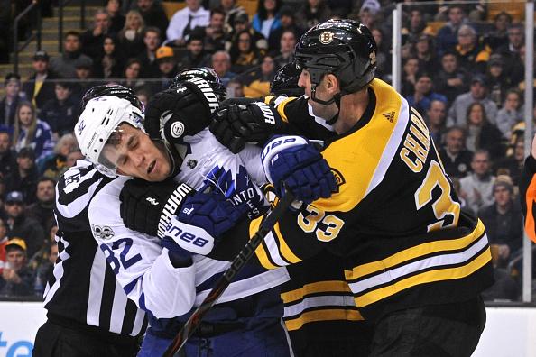 Bruins vs Leafs