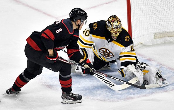 Boston Bruins Silence Hurricanes; Rask Tremendous