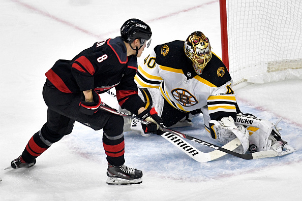 Boston Bruins Silence Hurricanes; Rask Tremendous