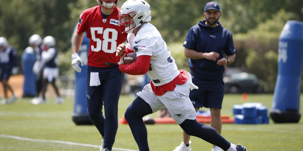 Rex Burkhead's Job is Safe in A Crowded Backfield