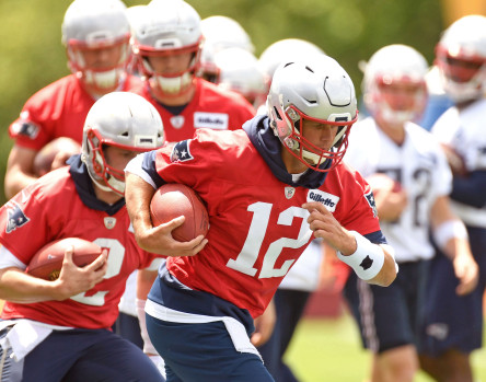 The Patriots  back at minicamp