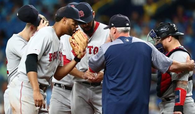 Red Sox Take Two Out Of Three From The Rays