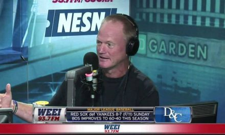 Gerry Callahan posts a 10 tweet thread about leaving WEEI