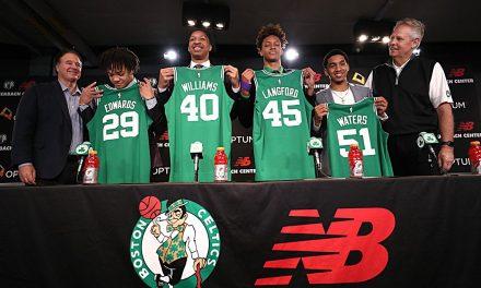 Boston Celtics Sign First Round Draft Picks