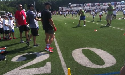 Boston Sports Extra at Julian Edelman's Pro Camp