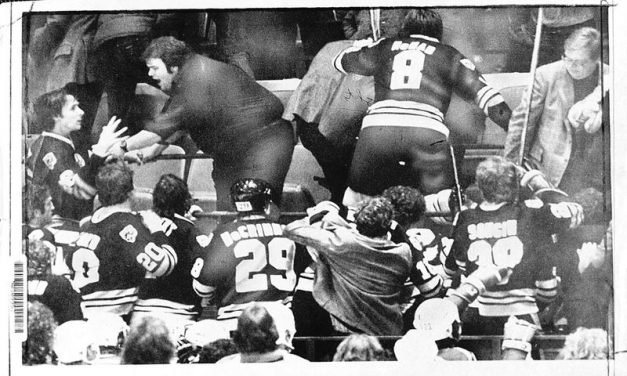 Boston Bruins History: Bruins Brawl in the Stands