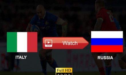 Watch Italy vs Russia Live Stream Reddit Online RWC 2019