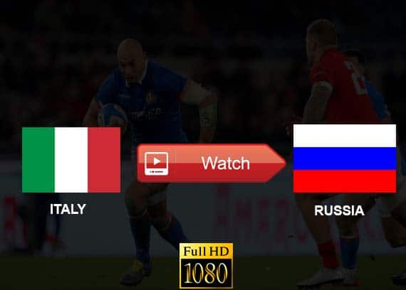 Watch Italy vs Russia Live Stream Reddit Online RWC 2019