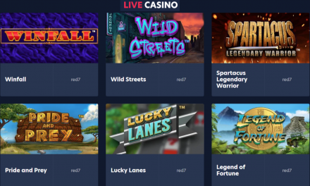 Live.Casino Partners with Red7 to Provide Online Slot Games