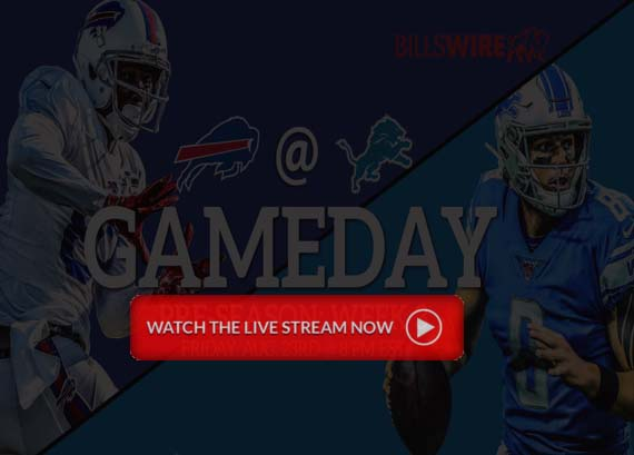 f1053a07 Buffalo Bills vs Detroit Lions Live NFL Pre-season 2019 free