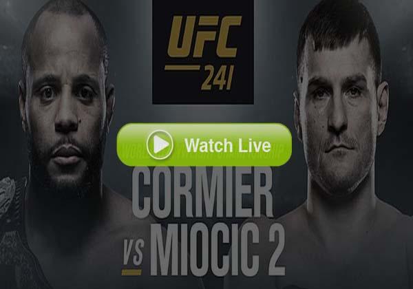 UFC 241 LIVE Cormier vs Miocic 2 Live Stream Official Fight