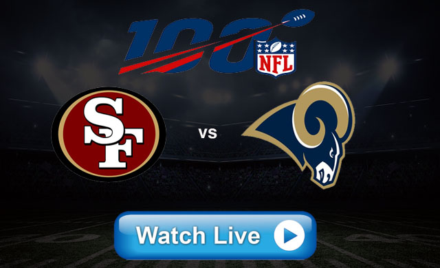 Football fantasy 49ers vs Rams Live NFL Reddit Streams