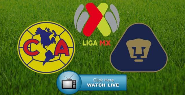 Club America vs Pumas Live Stream