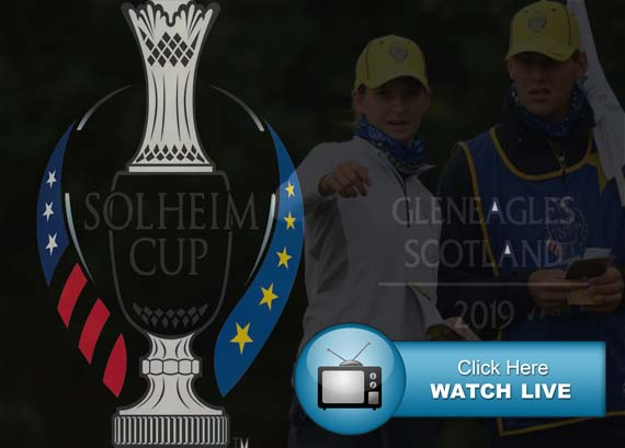 Solheim Cup 2019 Live Streams Europe vs USA Women's Golf