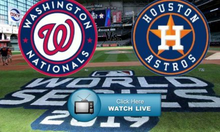 Astros vs Nationals MLB World Series 2019 Live Streams Reddit