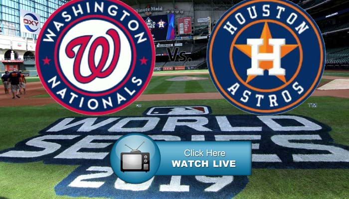 MLB World Series Live Streams Reddit Astros vs Nationals Online