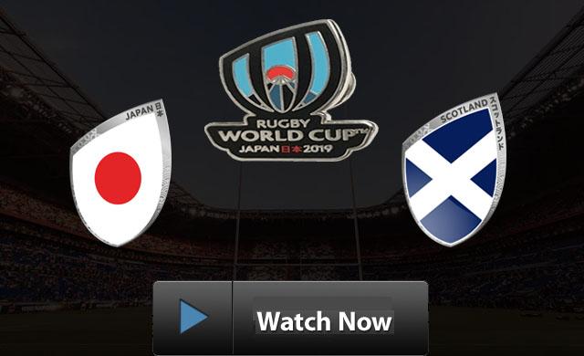 Japan vs Scotland rugby