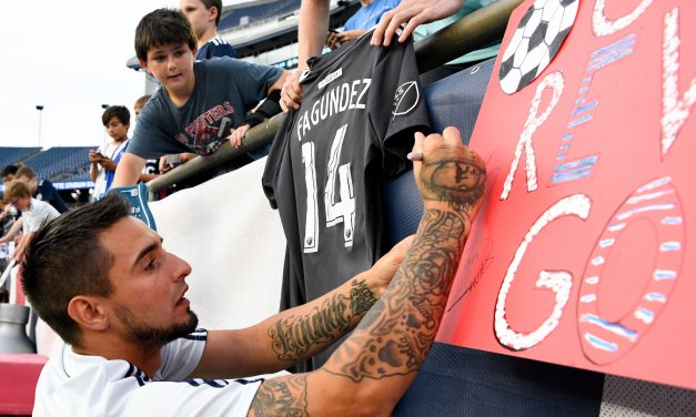 Diego Fagundez: What Does The Future Hold For Revs Superstar?