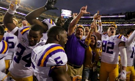 College football odds, lines, schedule for LSU opens at Alabama