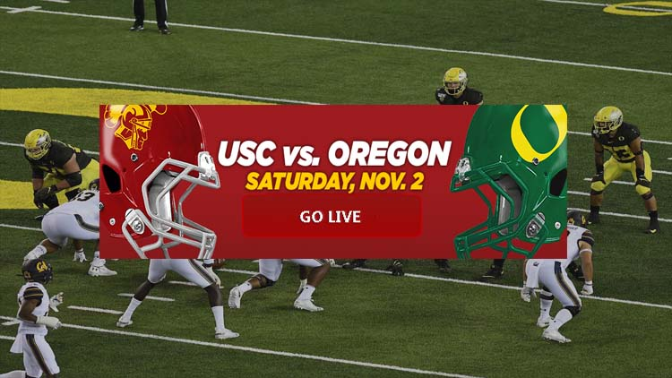 NCAAF Oregon vs USC Football