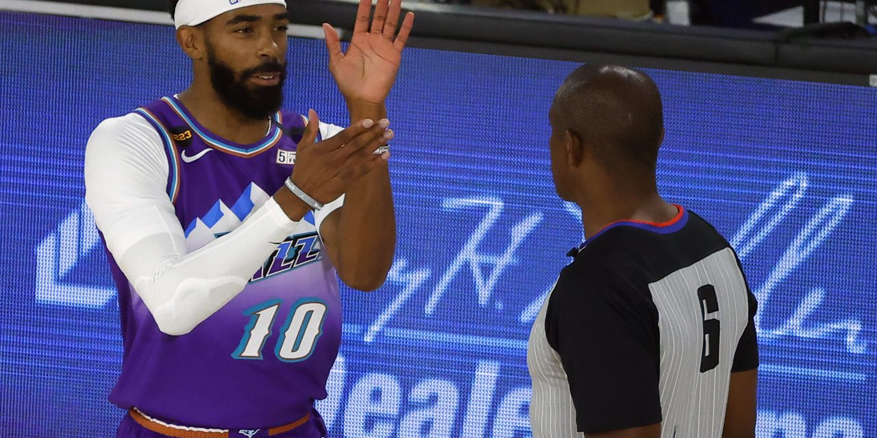 Mike Conley leaves Utah Jazz to welcome newborn