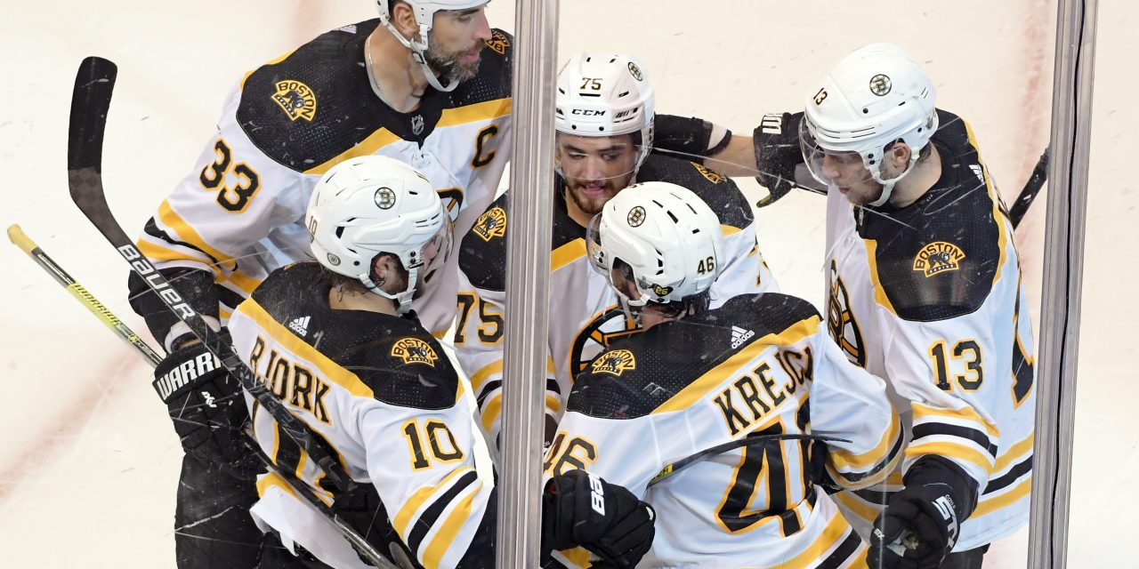 Boston Bruins Player Equipment Stats